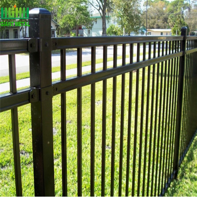 Cheap Powder Coated Rolled Picket Fencing