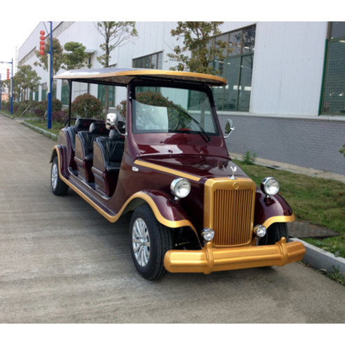 8 seats electric classic car with new energy