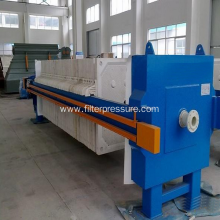 Honey Fltration Chamber Filter Press in Food Plant