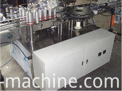hot melt glue labeling machine1