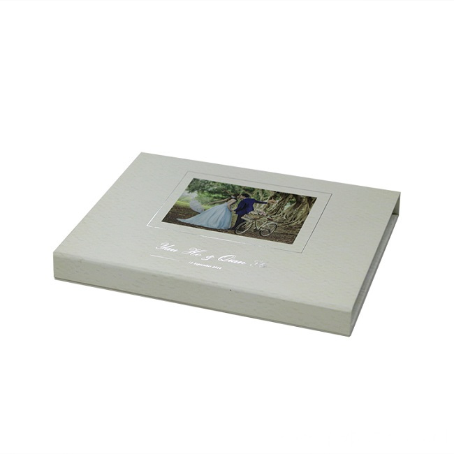 Luxury Custom Book Magnetic Box With EVA Foam