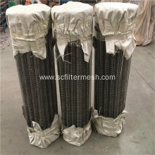 Welded Square Hole Spiral Perforated Metal Pipe