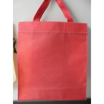 Best sell two-color splicing non woven shopping bag