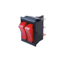 China for Rocker Switches Dual Double Illuminated Rocker Switch export to Russian Federation Manufacturers