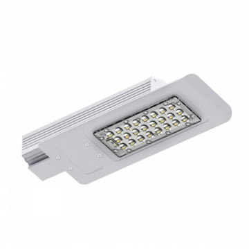Outdoor Bridgelux LED Street Light Mat Aluminium Logement