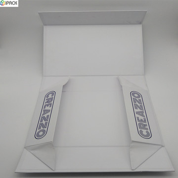 Custom Cardboard Gift Packing Magnetic Folding Paper Box