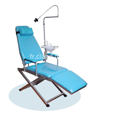 Chaise portative dentaire mobile bon marché moyenne clinique