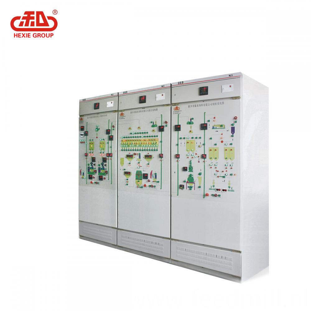 Equipped with electric control box
