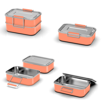 304 Stainless Steel Single Wall Lunch Box