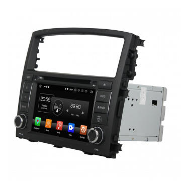 Android 8.0 car dvd gps for PAJERO 2006-2012