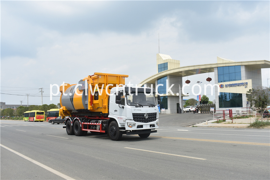 detachable compactor truck pictures