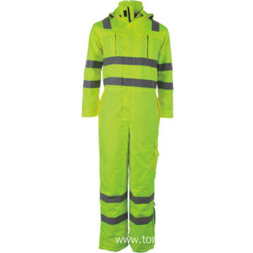 Hi Vis Bib Work Coveralls Overalls for Men