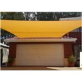 Green HDPE Knitted Shade Sail UV