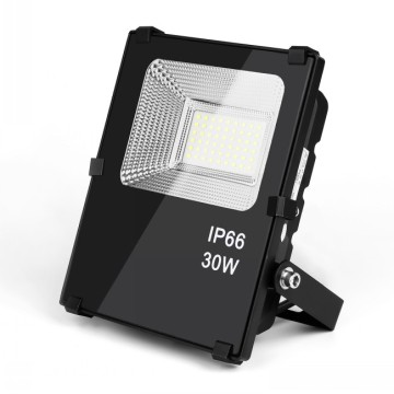 Smd Ultra Thin housing Aluminium Tempered Glass Material 30w Led Flood Light