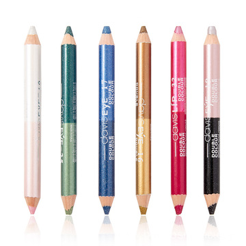 Double-ended multicolor Glitter Eyeliner Pencil Eyeshadow