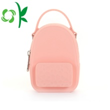Food Grade Backpack Shape Coin Purse With Change