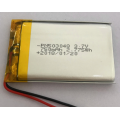 3.7 Volt 750mAh Lithium Ion Polymer Battery (LP3X4T5)