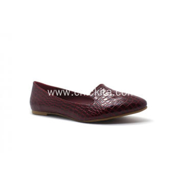Factory Free sample for Comfortable Shoes Classic crocodile print Loafer Pump Shoes supply to Indonesia Factories
