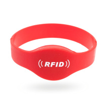 Factory directly for RFID Enabled Wristband TK4100 Silicone 125KHZ Bracelet RFID Wristbands export to Chad Factories