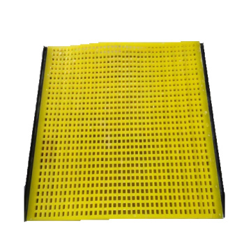 High-strength wear-resistant polyurethane screen