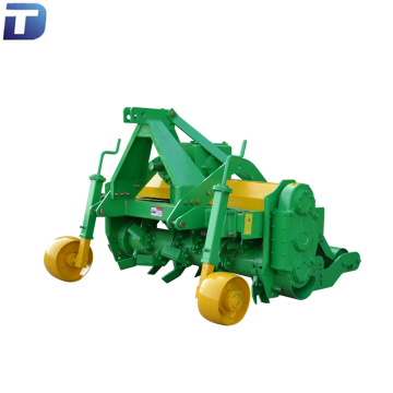 Tractor PTO banana tree chipping rotavator machine