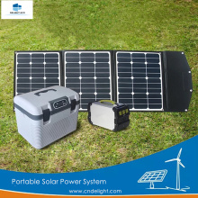 DELIGHT DE-PS 100W Portable Solar Energy Home System