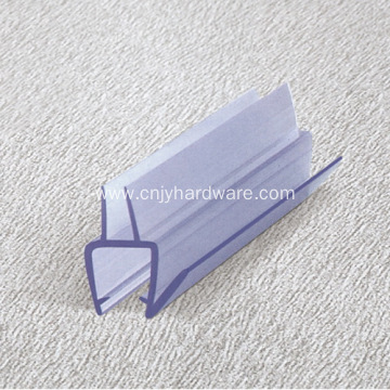 Rubber shower glass door seal strip