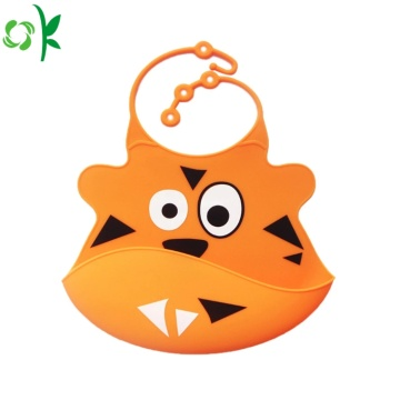 High Quality Waterproof Silicone Baby Bib for Meal