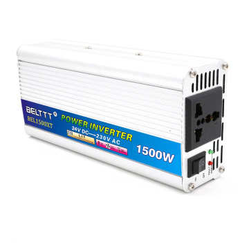 1500W 12VDC24VDC to 110VAC220VAC Modified Sine Wave Inverter