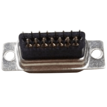 D-SUB Female connector staight high profile dip type