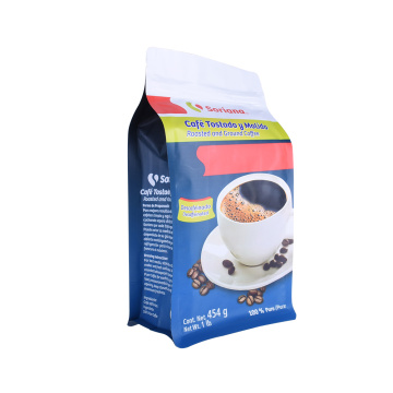 Gravure Printing Colorful Custom Resealable Food Packaging Coffee Bags Printed