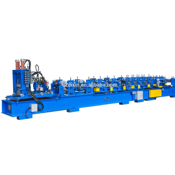 Automatic aluminum c roof steel purlin forming machine