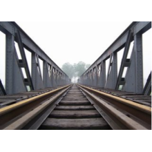 Steel Structure Railway Bridge