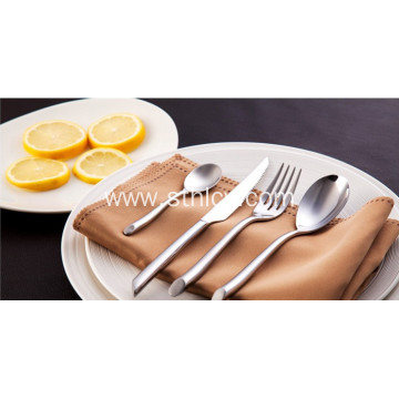 Heavy and Thick Stainless Steel Dinnerware Set Wholesale