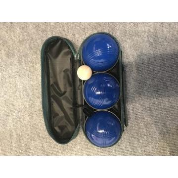 Blue Spraying Boules Set In Nylon Bag
