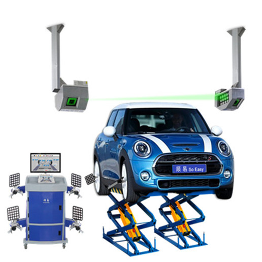 Patented 5D Wheel Alignment
