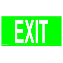 REALGLOW EXIT SIGN 75FT&50FT