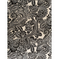 Black&White Rayon Challis 30S Light Printing Fabric