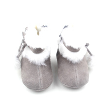 Baby Snow Leather Boots Christmas Boots