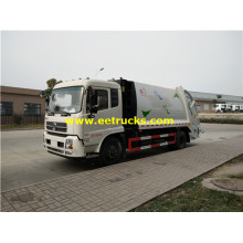 10000 Litres Dongfeng Compressed Garbage Trucks