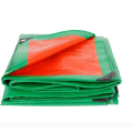 Orange color PE tarpaulin for covering