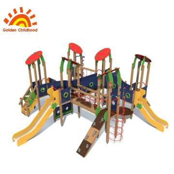 HPL Multiply Outdoor Playground Panel Climbing Slide