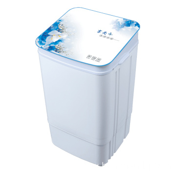 Blue Glass Cover 7KG Single Tub Washing Machine
