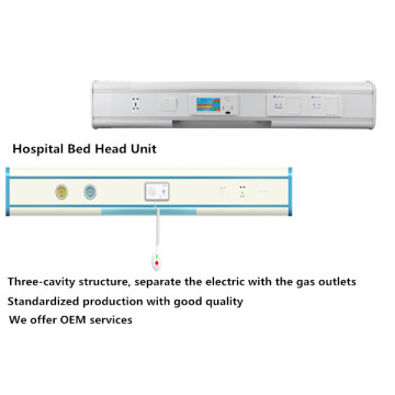 Reasonable Price for Hospital Bed head Using Panel