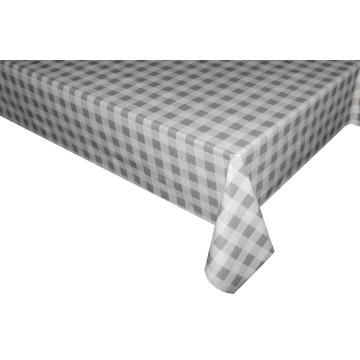 Elegant Tablecloth with Non woven backing Elasticized Edge