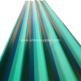 Light Weigh Shock Resistant MGO Roofing Sheet