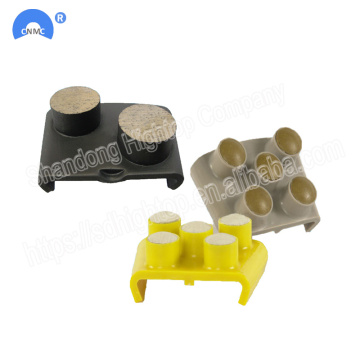 HTC Diamond Floor concrete Grinding Shoes