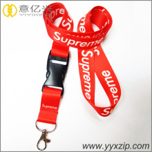 fashion sublimation supreme quality promotional lanyard