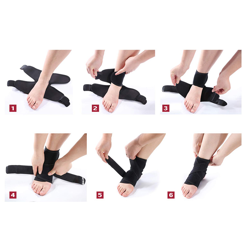 Ankle Brace Support Stabilizer