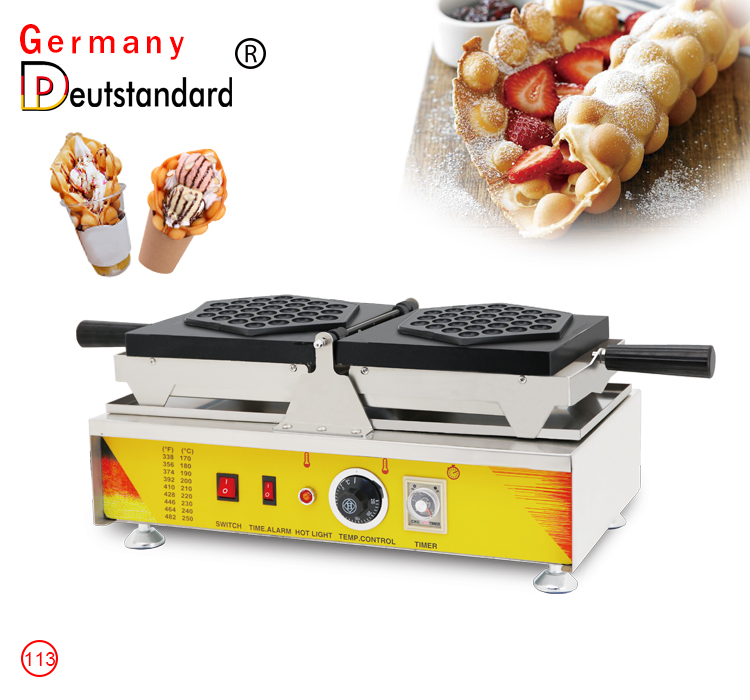 egg bubble waffle maker new type